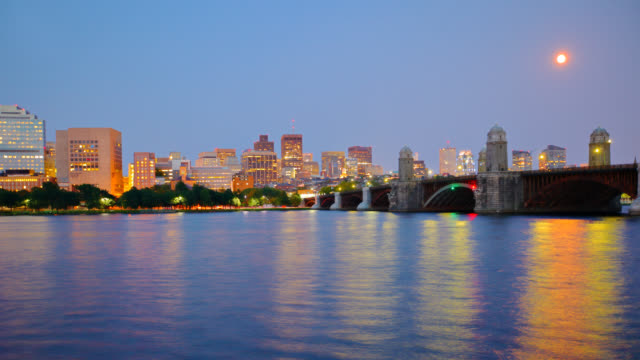 Downtown Boston Skyline video