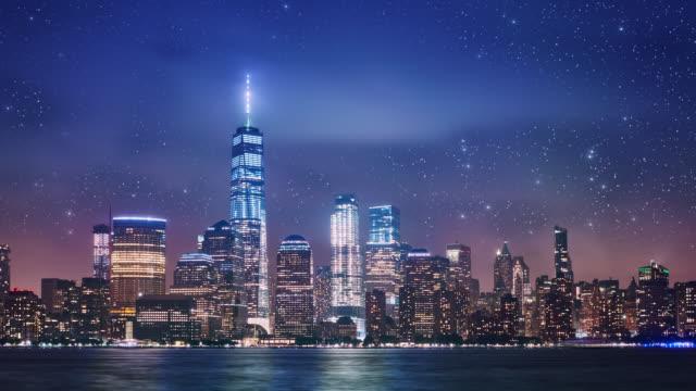 Downtown business Manhattan video
