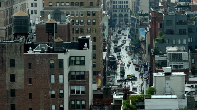 Downtown City Scene