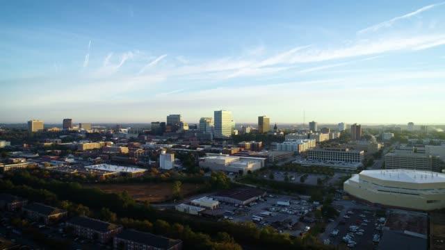 Downtown Columbia South Carolina SC Skyline Aerial