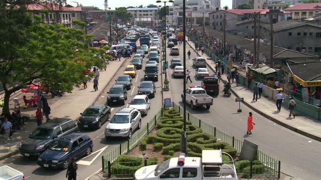 Downtown Lagos, Nigeria video