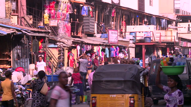 Downtown Lagos, Nigeria video