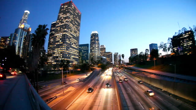 Downtown Los Angeles (Timelapse) video
