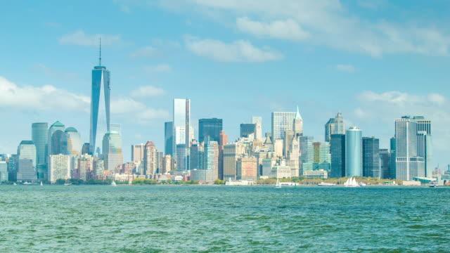 Downtown Manhattan, New York City Skyline video