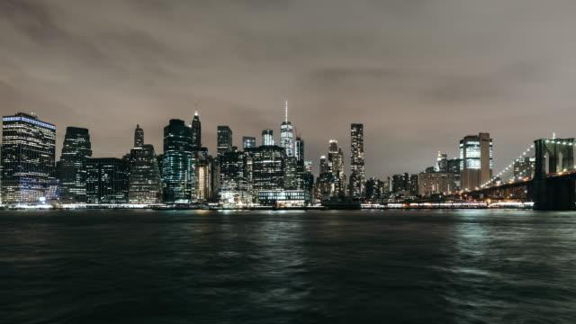 T/L TU Downtown Manhattan / New York, USA video
