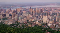 istock AERIAL Downtown Montreal from the Mount Royal, QC, Canada 1217323045