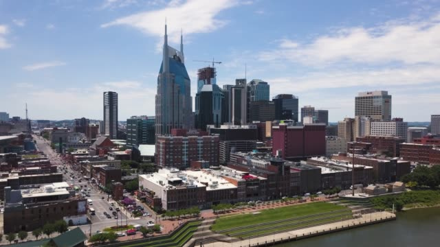 Downtown Nashville and Broadway Street 03 video