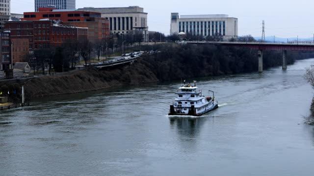 Downtown Nashville, Tennessee en Cumberland River video