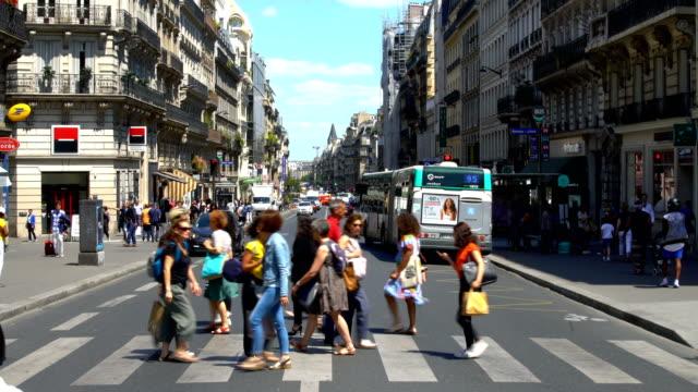 Downtown Paris, Time Lapse