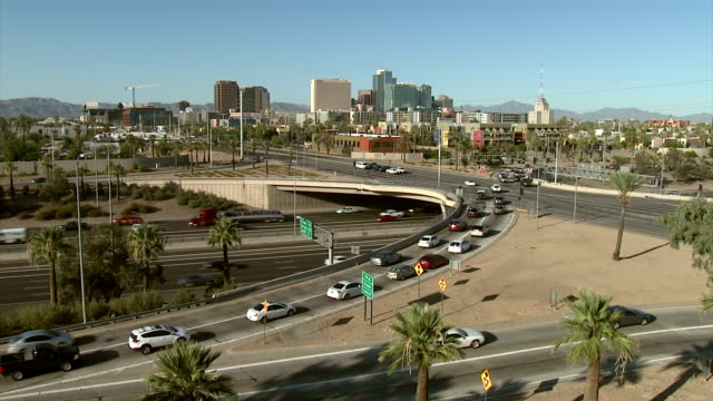 Downtown Phoenix Transportion. video