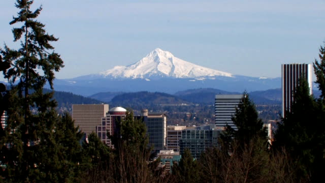 Downtown Portland & Mt. Hood - 1of2