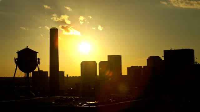 Downtown Richmond, Virginia Sunset Timelapse video