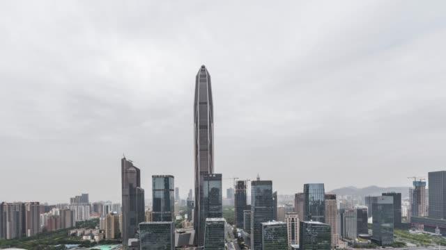 T/L TD Downtown Shenzhen / Guangdong, China video