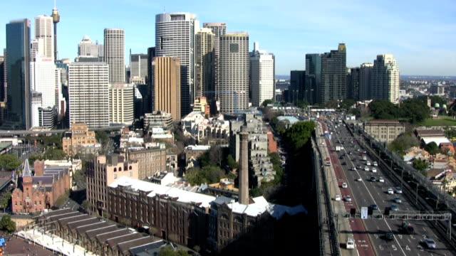Downtown Sydney Traffic video