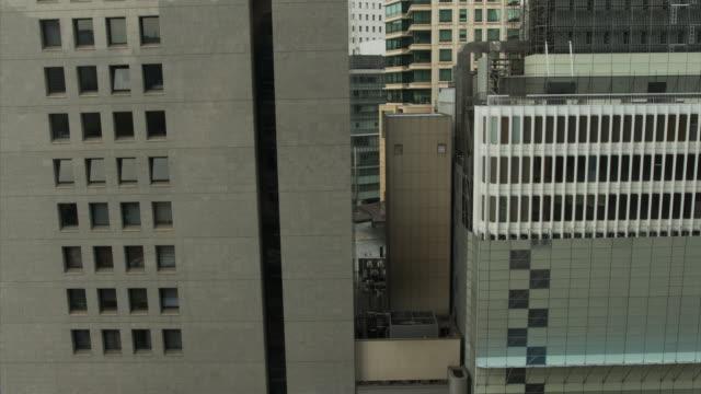 ダウンタウン、東京 - 未来的な都市の美しさ。 - 緑 ビル点の映像素材/bロール