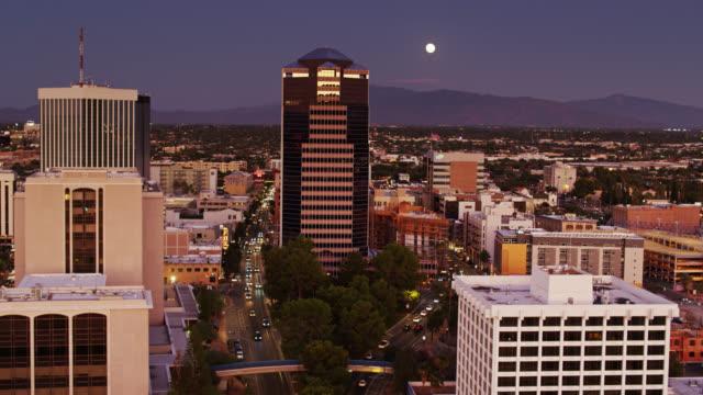Downtown Tucson at Twilight