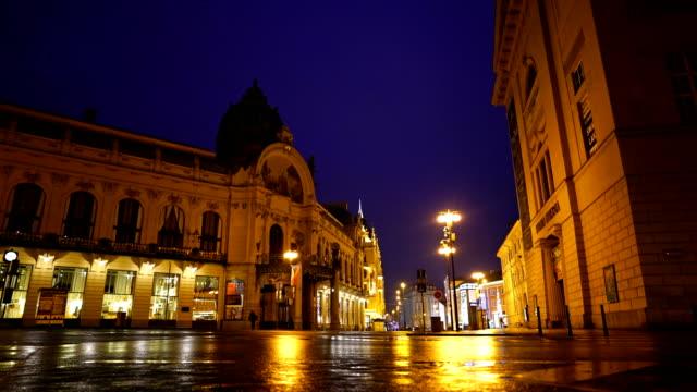 downtown vienna austria - проспект стоковые видео и кадры b-roll