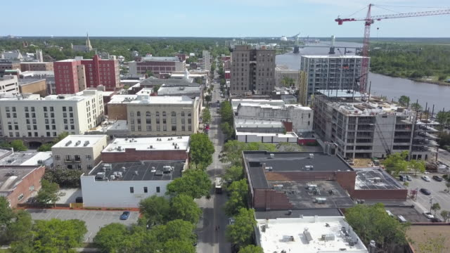 Downtown Wilmington, NC, USA – Video