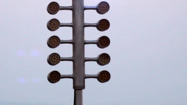 drag racing street tree light. stage lamp signal at quarter mile circuit. - race stock videos & royalty-free footage