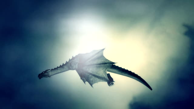 dragon flying against the wind - dragon stock videos and b-roll footage