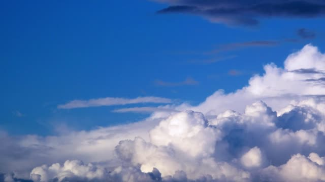 Dramatic clouds timelapse. video