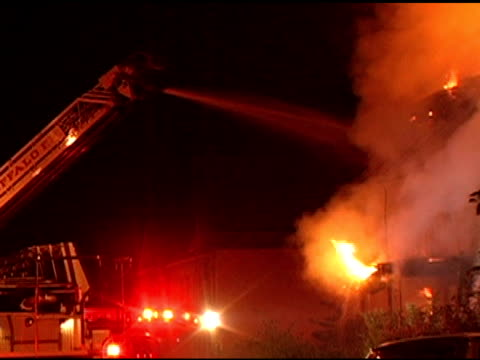 Dramatic Firefighter Action video