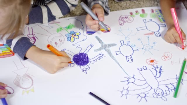 Drawing Beautiful Picture Together video
