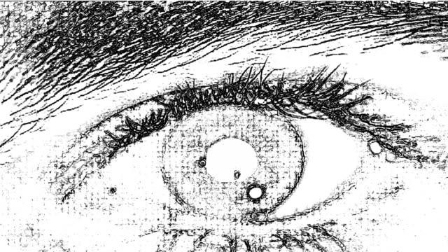 Drawing Eyes video