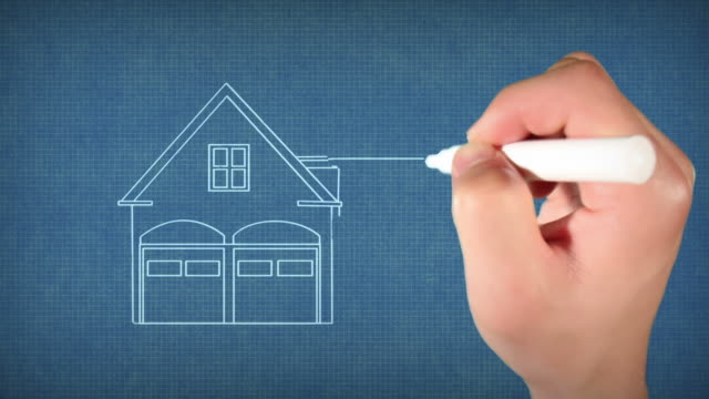 Drawing House Blueprint video