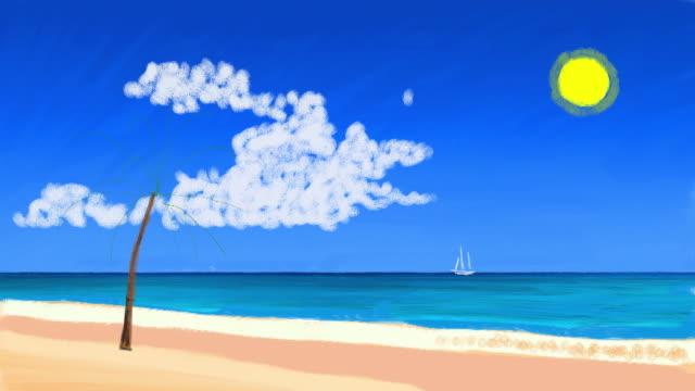 drawn beach video