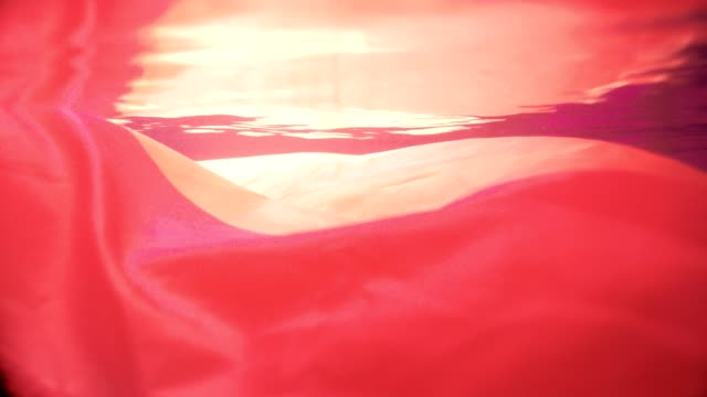 lgbtの夢水中ダンス - 布点の映像素材/bロール