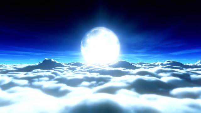 drömmar fullmåne moln 4k - nightsky bildbanksvideor och videomaterial från bakom kulisserna