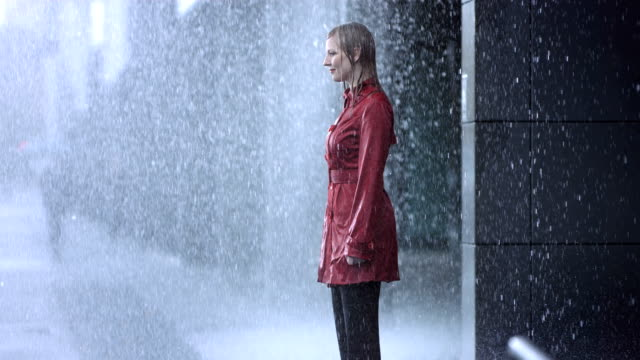 Drenched In The Heavy Rain (Super Slow Motion) video