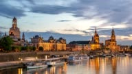 istock Dresden city skyline day to night timelapse at Elbe River, Dresden, Germany 4K Time lapse 913288508