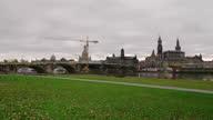 istock Dresden Elbe Meadows View Into City 1307526766