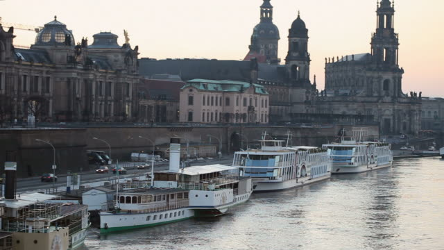 dresden, germany - neoclassical architecture stock videos & royalty-free footage