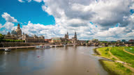 istock Dresden Germany waterfront Timelapse 1330128987
