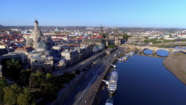 Dresden am sonnigen Herbsttag – Video
