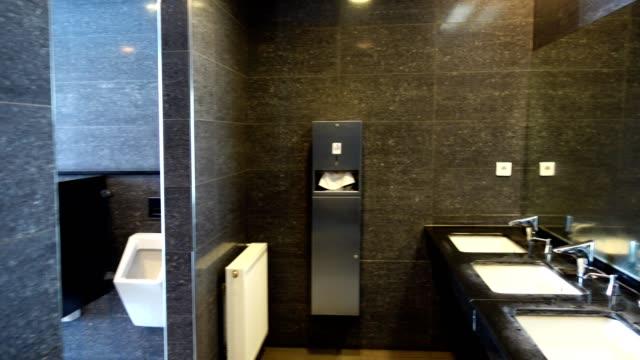 Dressing room. Shooting in motion. bathroom stock videos & royalty-free footage