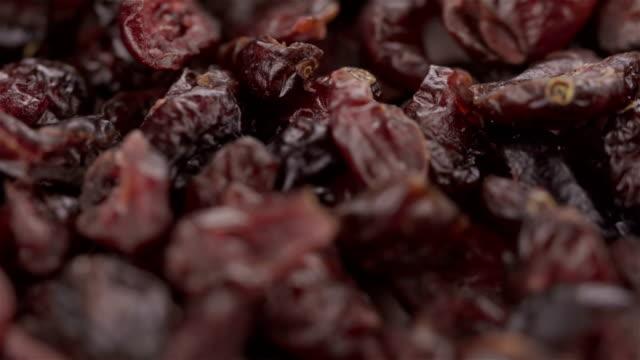 Dried Blueberries - 4K video video