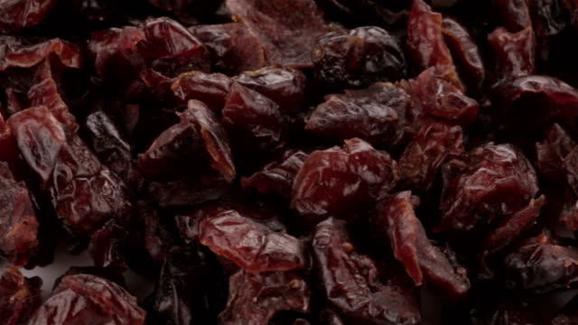 Dried Blueberries - 4K video video