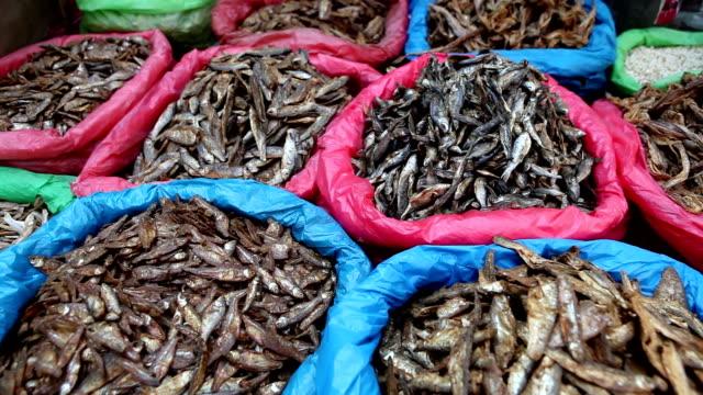 Dried Fish Asian Market video