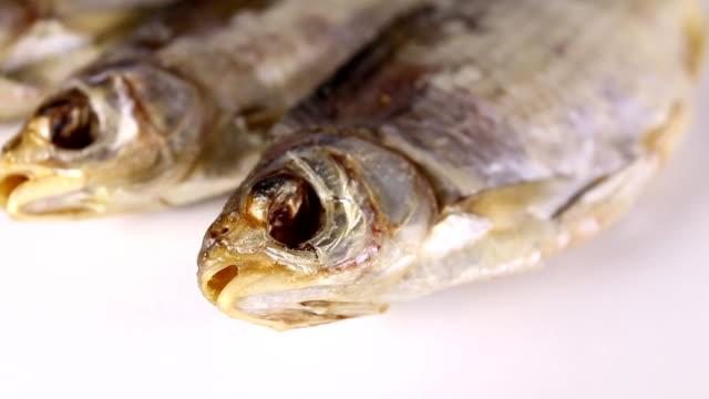 Dried fish. video