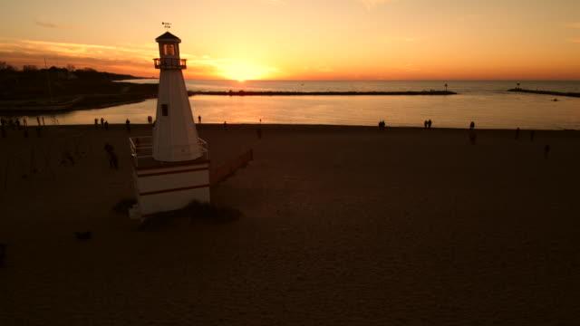 Drift by Lighthouse Sunset