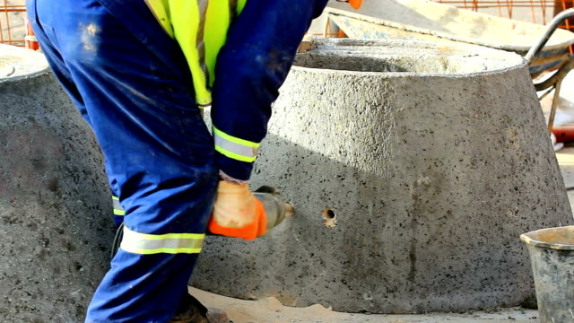 Drill for concrete video