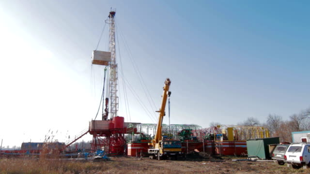 Drilling Rig Oil Industry video