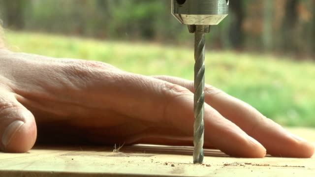Drilling Wood video