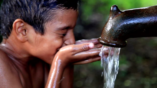 drinking water - sustainability video stock e b–roll