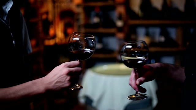 HD STOCK: Drinking wine video