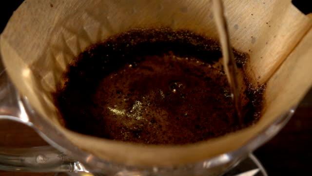 Drip coffee video
